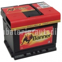 Autobaterie BANNER POWER BULL 12 V 44 Ah 420 A P44 09