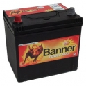 Autobaterie BANNER POWER BULL 12 V 60 Ah 480 A P60 69 ASIA LEVÁ