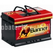 Autobaterie BANNER POWER BULL 12 V 62 Ah 540 A P62 19