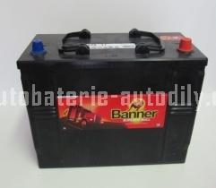 Autobaterie BANNER BUFFALO BULL 12 V 125 Ah 760 A 625 11