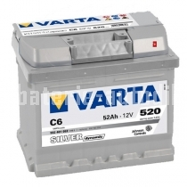 Autobaterie VARTA SILVER DYNAMIC 12 V 52 Ah 520 A 552401