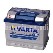 Autobaterie VARTA BLUE DYNAMIC 12 V 60 Ah 540 A 560127