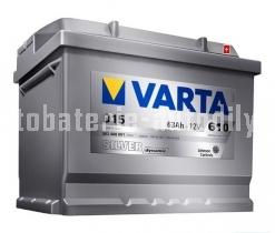 Autobaterie VARTA SILVER DYNAMIC 12 V 63 Ah 610 A 563400
