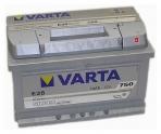 Autobaterie VARTA SILVER DYNAMIC 12 V 74 Ah 750 A 574402
