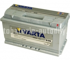 Autobaterie VARTA SILVER DYNAMIC 12 V 100 Ah 830 A 600402