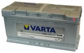Autobaterie VARTA SILVER DYNAMIC 12 V 110 Ah 920 A 610402