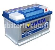 Autobaterie VARTA BLUE DYNAMIC 12 V 72 Ah 680 A 572409