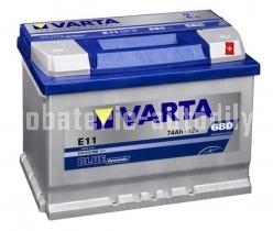 Autobaterie VARTA BLUE DYNAMIC 12 V 74 Ah 680 A 574012