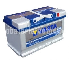 Autobaterie VARTA BLUE DYNAMIC 12 V 80 Ah 740 A 580406