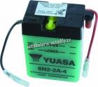 Motobaterie YUASA STANDARD 6 V 2 Ah 6N2-2A-4