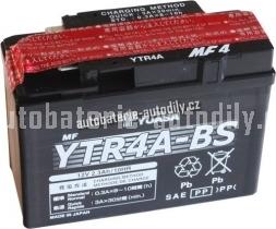 Motobaterie YUASA SUPER MF 12 V 2,3 Ah 45 A YTR4A-BS