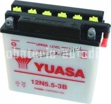 Motobaterie YUASA STANDARD 12 V 5.5 Ah 60 A 12N5.5-3B