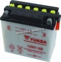 Motobaterie YUASA STANDARD 12 V 7 Ah 74 A 12N7-3B