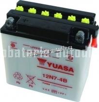 Motobaterie YUASA STANDARD 12 V 7 Ah 74 A 12N7-4B