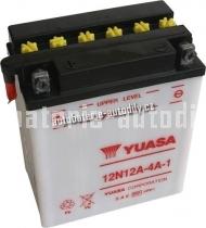 Motobaterie YUASA STANDARD 12 V 12 Ah 113 A 12N12A-4A-1