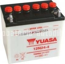 Motobaterie YUASA STANDARD 12 V 24 Ah 200 A 12N24-4