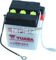 Motobaterie YUASA STANDARD 6 V 4 Ah 6N4-2A-5