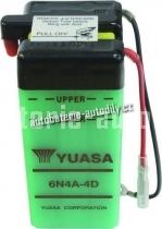 Motobaterie YUASA STANDARD 6 V 4 Ah 6N4A-4D