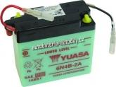 Motobaterie YUASA STANDARD 6 V 4 Ah 6N4B-2A