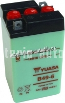 Motobaterie YUASA STANDARD 6 V 8 Ah B49-6