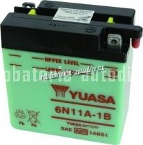 Motobaterie YUASA STANDARD 6 V 11 Ah 6N11A-1B
