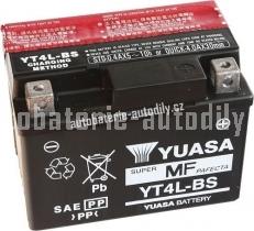 Motobaterie YUASA SUPER MF 12 V 3 Ah 35 A YT4L-BS