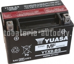 Motobaterie YUASA SUPER MF 12 V 8 Ah 120 A YTX9-BS