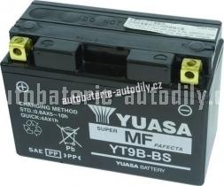 Motobaterie YUASA SUPER MF 12 V 8 Ah 115 A YT9B-BS