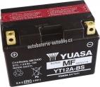Motobaterie YUASA SUPER MF 12 V 10 Ah 175 A YT12A-BS