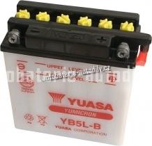 Motobaterie YUASA YUMICRON 12 V 5 Ah 65 A YB5L-B