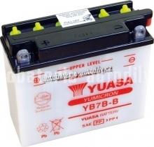 Motobaterie YUASA YUMICRON 12 V 7 Ah 115 A YB7B-B