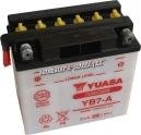 Motobaterie YUASA YUMICRON 12 V 8 Ah 124 A YB7-A
