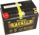 Motobaterie YUASA SUPER MF INTEGROVANÝ 12 V 11 Ah 210 A YTZ12S