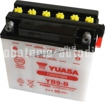 Motobaterie YUASA YUMICRON 12 V 9 Ah 130 A YB9-B