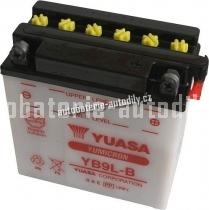 Motobaterie YUASA YUMICRON 12 V 9 Ah 130 A YB9L-B