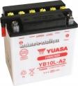 Motobaterie YUASA YUMICRON 12 V 11 Ah 160 A YB10L-A2