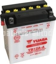 Motobaterie YUASA YUMICRON 12 V 12 Ah 165 A YB12A-A