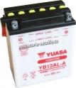 Motobaterie YUASA YUMICRON 12 V 12 Ah 165 A YB12AL-A