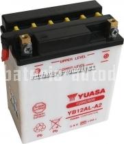 Motobaterie YUASA YUMICRON 12 V 12 Ah 165 A YB12AL-A2