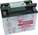 Motobaterie YUASA YUMICRON 12 V 12 Ah 165 A YB12B-B2