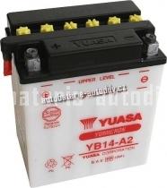 Motobaterie YUASA YUMICRON 12 V 14 Ah 190 A YB14-A2