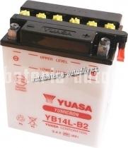 Motobaterie YUASA YUMICRON 12 V 14 Ah 190 A YB14L-B2