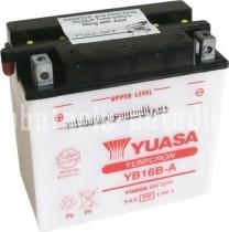 Motobaterie YUASA YUMICRON 12 V 16 Ah 207 A YB16B-A