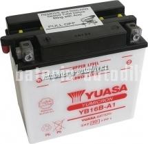 Motobaterie YUASA YUMICRON 12 V 16 Ah 207 A YB16B-A1