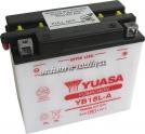 Motobaterie YUASA YUMICRON 12 V 18 Ah 235 A YB18L-A