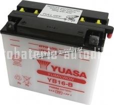 Motobaterie YUASA YUMICRON 12 V 19 Ah 240 A YB16-B
