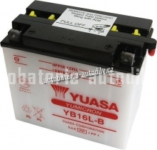 Motobaterie YUASA YUMICRON 12 V 19 Ah 240 A YB16L-B