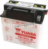Motobaterie YUASA YUMICRON 12 V 19 Ah 240 A YB16CL-B