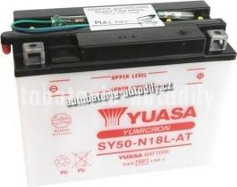 Motobaterie YUASA YUMICRON 12 V 20 Ah 260 A SY50-N18L-AT