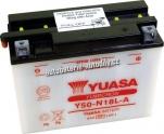 Motobaterie YUASA YUMICRON 12 V 20 Ah 260 A Y50-N18L-A